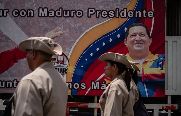 Nicolás Maduro culpa a Estados Unidos por incendio. Foto: AFP