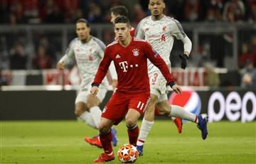 Prensa alemana le sacó mala nota a James tras eliminación de Champions