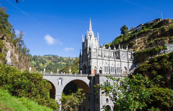 ¿Cómo llegar al Santuario de Las Lajas, en Colombia?