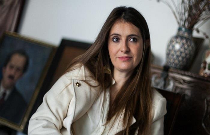 Paloma Valencia es nieta del expresidente Guillermo León Valencia. Foto: Twitter
