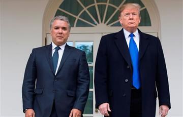 """Trump """"da visto bueno"""" a estrategia de Duque con la JEP"""