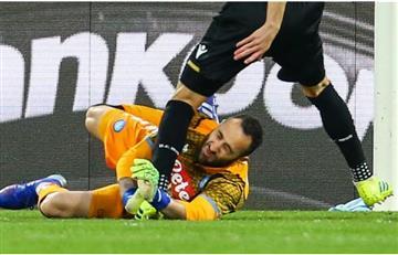 David Ospina se pierde gira con Selección tras choque y desmayo en plena cancha