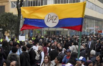 Así fueron las marchas a favor de la 'Paz' en Colombia
