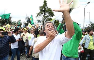¿Por qué Fajardo no asistió a la marcha en defensa de la JEP?