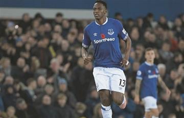 ¿Yerry Mina se marcha de Everton?