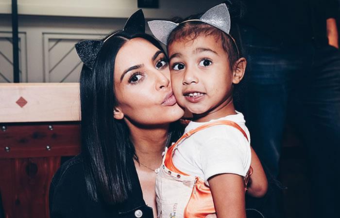 Kim Kardashian es un ejemplo de ser madre a los 30's. Foto: Instagram Kim Kardashian.