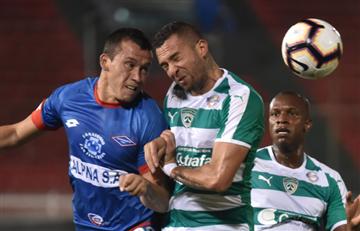 Equidad empató en su debut por Copa Sudamericana