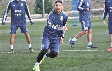Messi vuelve a vestir la camiseta de Argentina ante Venezuela