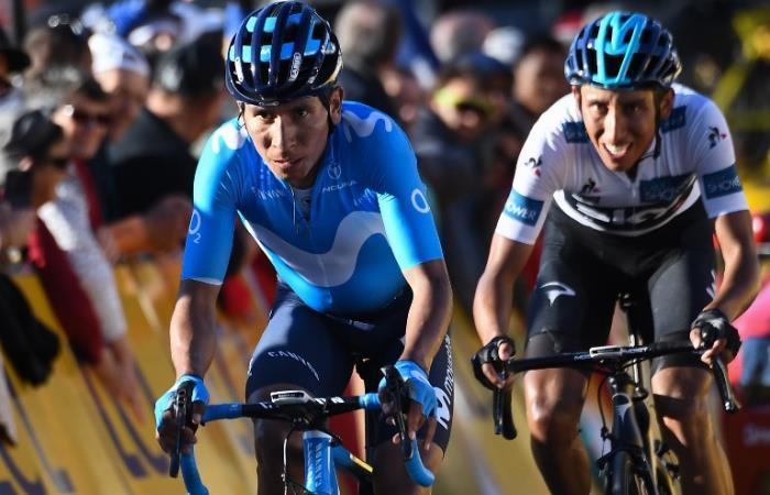 Nairo y Egan presentes en la Vuelta a Cataluña. Foto: AFP
