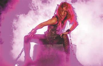 Esta es la foto en la que Shakira sale mostrando glúteos