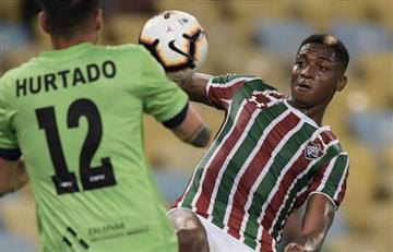 [VIDEO] Pasegol de Yony González en la victoria de Fluminense en Sudamericana