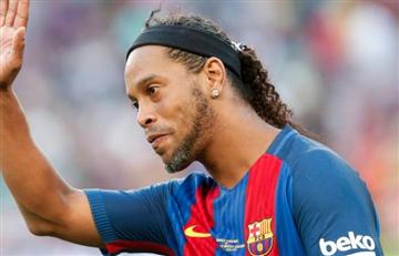 [VIDEO] ¡Ronaldinho vuelve a Colombia!
