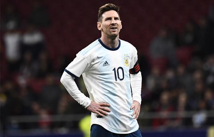 Argentina pierde ante Venezuela en amistoso internacional