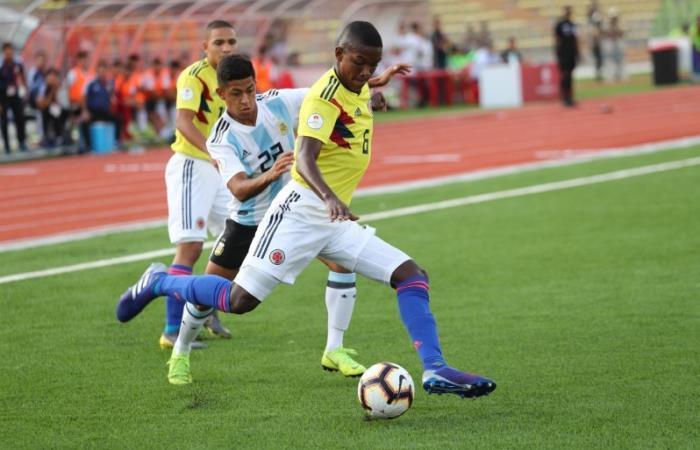 Colombia inició con pie izquierdo el Suramericano Sub-17