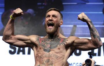 [VIDEO] ¿Otra vez? Esto hará Conor McGregor en las Artes Marciales Mixtas