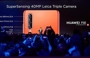 Huawei presentó su nueva serie P30