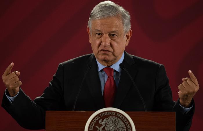 El presidente mexicano aclaró que él también pedirá perdón a los indígenas de su país. Foto: AFP