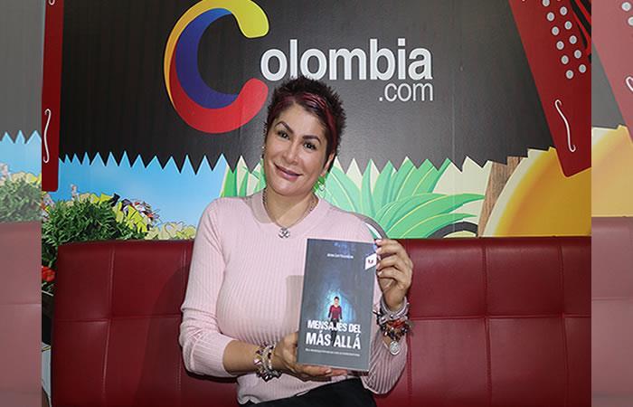 'Mensajes del más allá', el revelador libro de la terapeuta y médium Ayda Luz Valencia