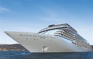 Así es el 'crucero más lujoso del mundo' que llegó a Colombia