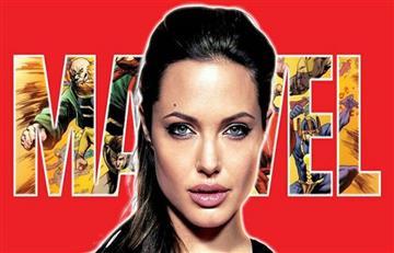 Angelina Jolie sería uno de los personajes principales de 'Los Eternos' de Marvel