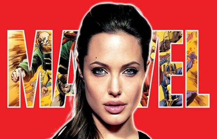 Angelina Jolie se une a Marvel. Foto: Twitter
