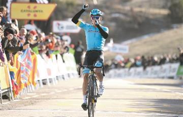Vuelta a Cataluña: Miguel Ángel López ganó la cuarta etapa y es el nuevo líder de la general [VIDEO]