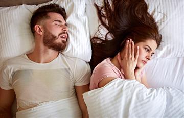 Con estos sencillos pasos lograrás dejar de escuchar los ronquidos de tu pareja