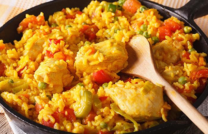 Arroz con pollo. Foto: Shutterstock