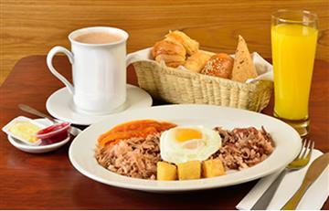 Conoce el desayuno favorito de los colombianos