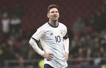 Messi: Mi hijo me pregunta ¿por qué te atacan en Argentina?