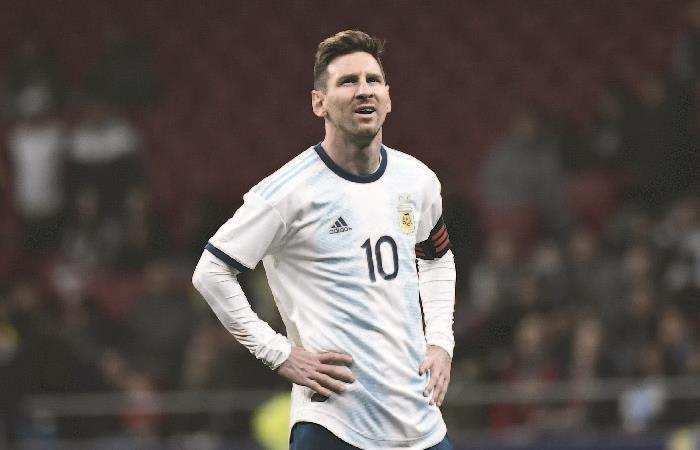 Messi mostró su enojo por las fuertes criticas a la Selección Argentina