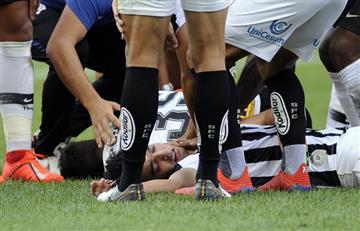 [VIDEO] Este es el duro golpe de Felipe Aguilar y su parte médico