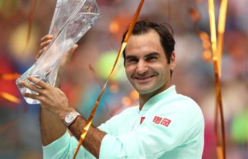 [VIDEO] 'Su Majestad' sigue demostrando porque es uno de los más grandes del tenis mundial