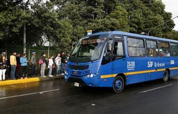 ¿Hasta cuándo? Así fue el atraco masivo a un bus del SITP en Bogotá