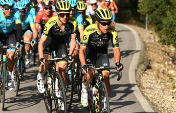 Esteban Chaves correrá con su equipo en el Giro de Italia