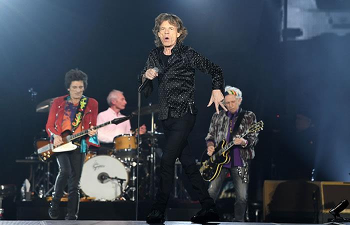 Mick Jagger, cantante de la banda británica de rock The Rolling Stones. Foto: AFP