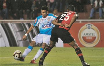 Junior perdió y quedó con un pie fuera de la Copa Libertadores