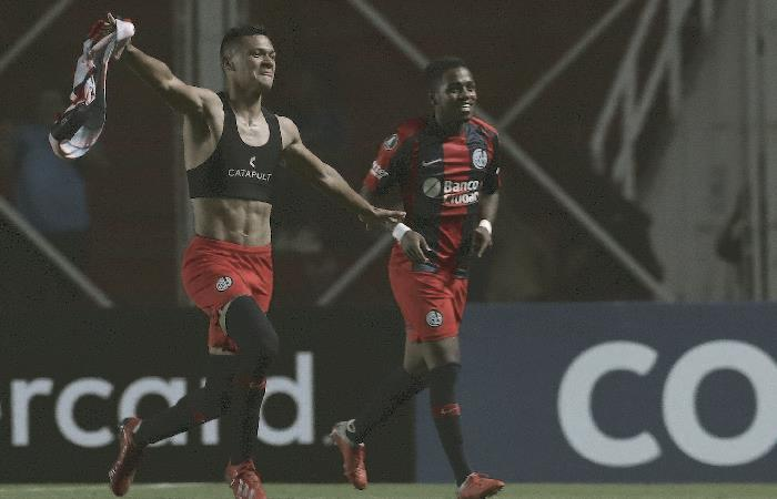 Copa Libertadores: San Lorenzo venció a Palmeiras y le quitó el invicto