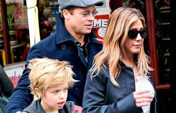 "¿Será cierto? Hija de Brad Pitt llama ""mamá"" a Jennifer Aniston"