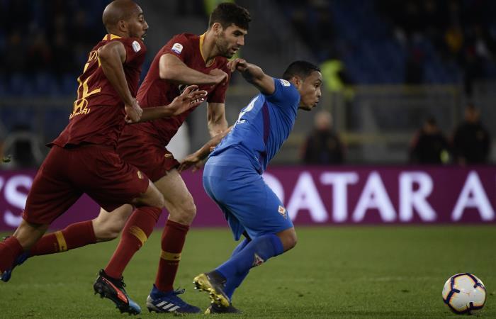 Serie A: Muriel fue titular en el empate de Fiorentina ante Roma