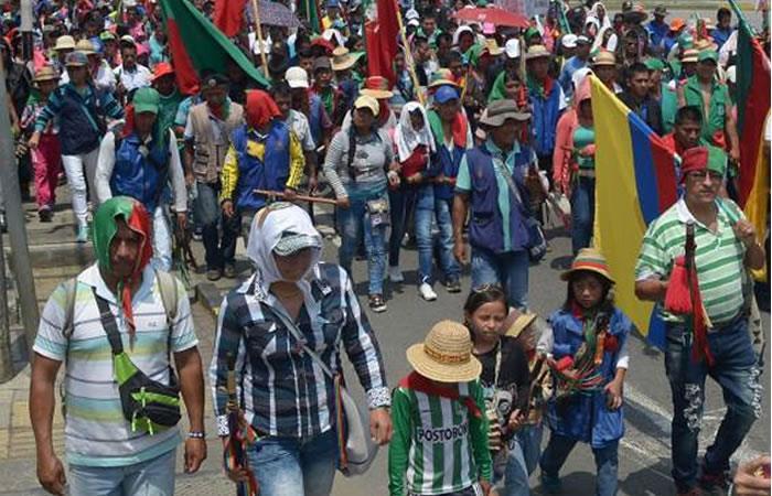Gobierno apoyará el 80% de solicitudes de la Minga del Cauca