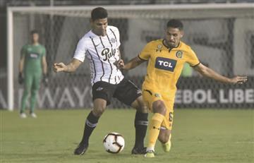Alexander Mejía fue titular en la victoria de Libertad sobre Rosario Central