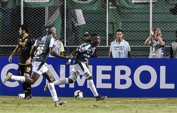 Deportivo Cali debutó con victoria en la Copa Sudamericana