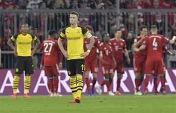 [VIDEO] Sin James, Bayern Múnich aplasta a Borussia Dortmund