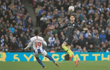 José Izquierdo puso en problemas al Manchester City