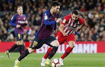 [VIDEO] ¡Una obra de arte! Con un golazo, Messi sentencia el clásico ante Atlético de Madrid