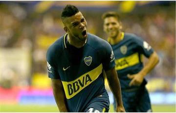 ¡La felicidad! Frank Fabra volvió a jugar con el equipo principal de Boca
