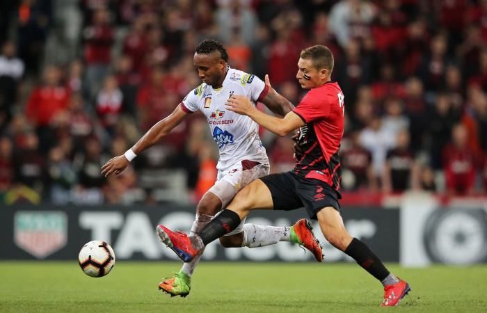 Copa Libertadores: Deportes Tolima perdió ante Atlético Paranaense