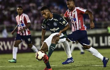 Copa Libertadores: Sigue EN VIVO ONLINE el partido entre Palmeiras y Junior