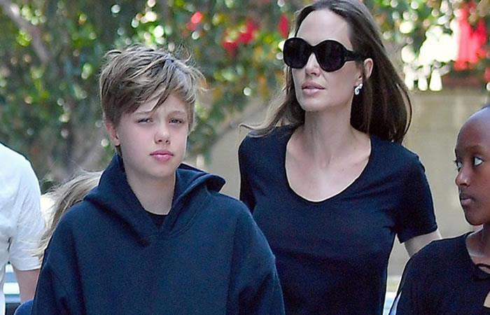 Hija de Angelina Jolie y Brad Pitt comienza el tratamiento para cambiar de género